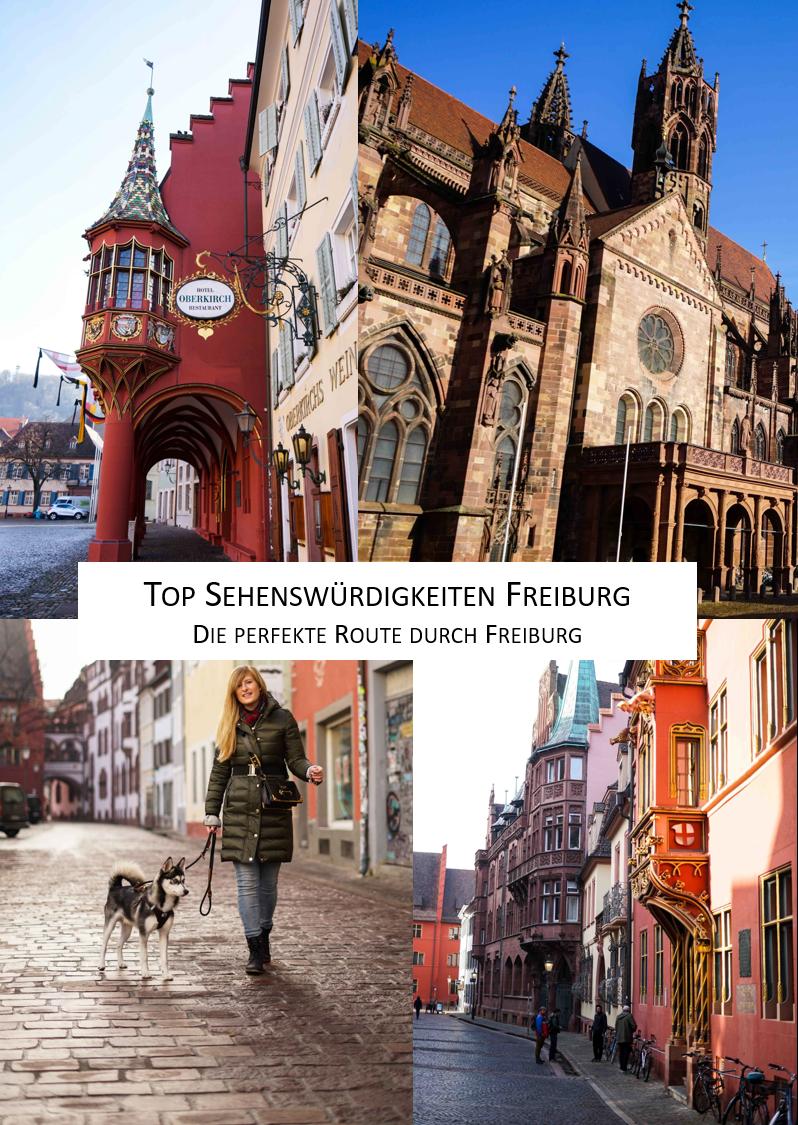 Top Sehenswürdigkeiten Freiburg Route Altstadt Sehenswürdigkeiten beste Foto Spots