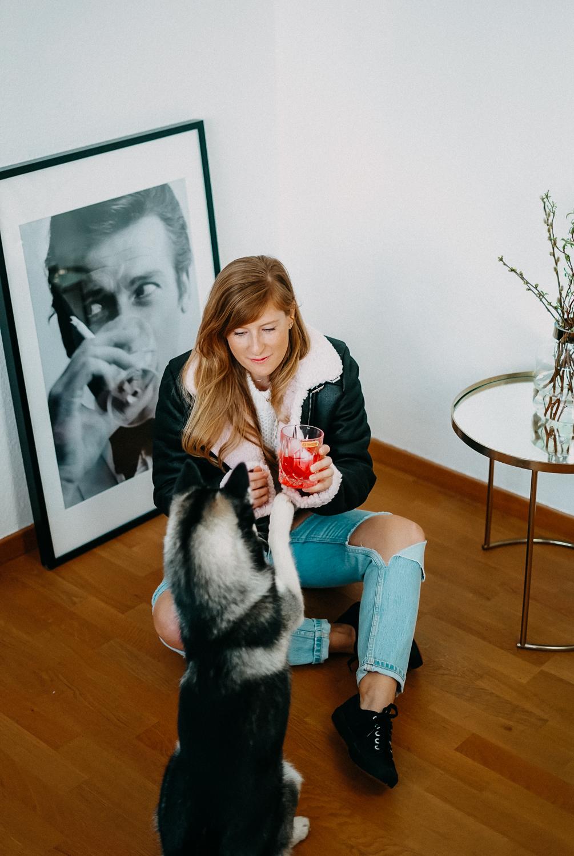 Modeblog Brinisfashionbook Fashion Blog Deutschland Umzug Gedanken Ripped Jeans Aviator Jacke 3