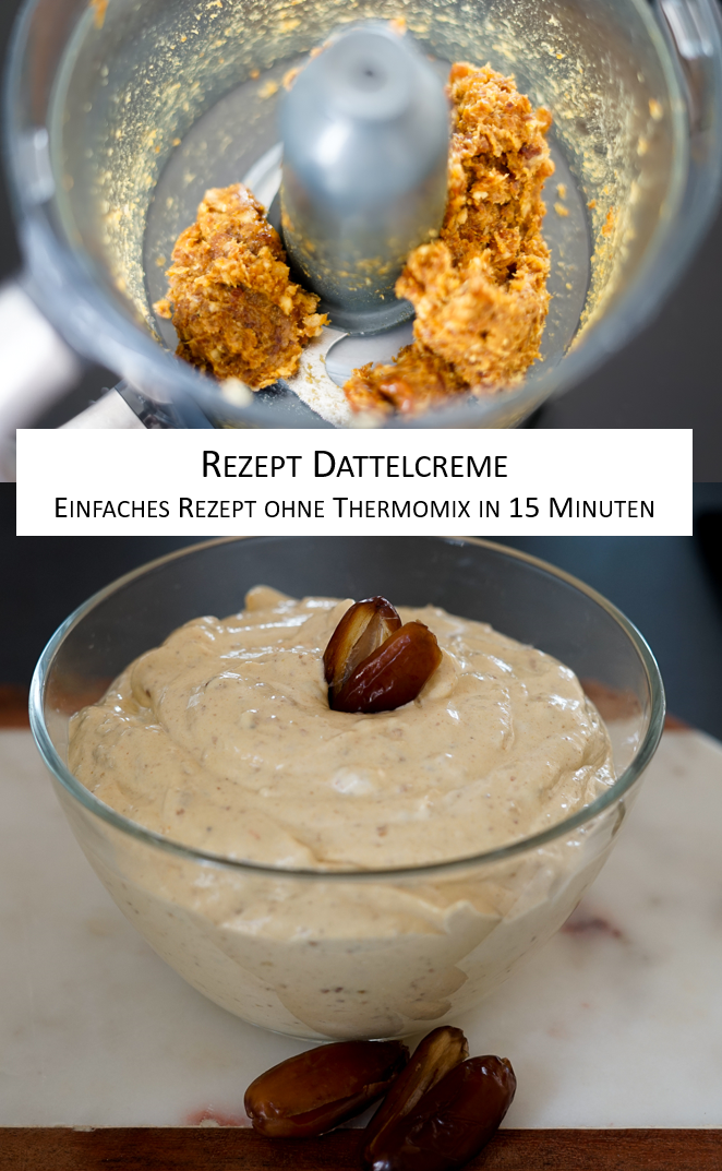Rezept Dattelcreme Dip Party ohne Thermomix Blog