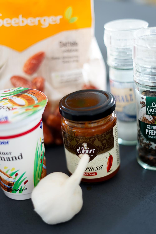 Rezept Dattelcreme Dip ohne Thermomix der perfekte Dip alle Anlässe Currypulver Paste Zutaten 2