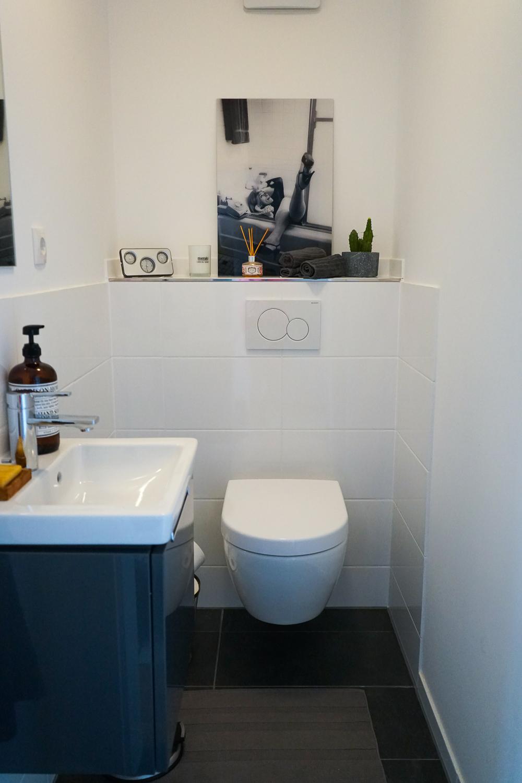 Badezimmer Ideen Badezimmer ohne Fenster einrichten Gäste WC dekorieren