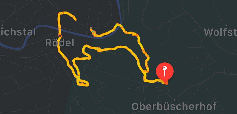 Wandern im Bergischen Land NRW Rundwanderweg Rüden Wanderroute einfach Wupper Reiseblog Oberbüscherhof