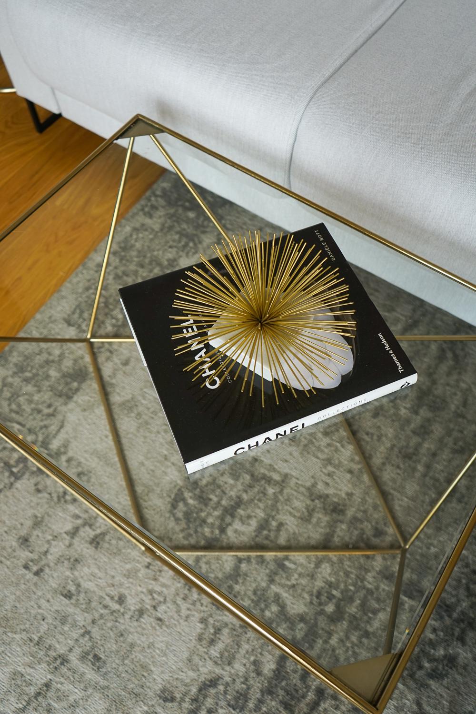 Wohnzimmer Tisch Ideen Inspiration Chanel Tablebook Wohnzimmertisch Glas Gold