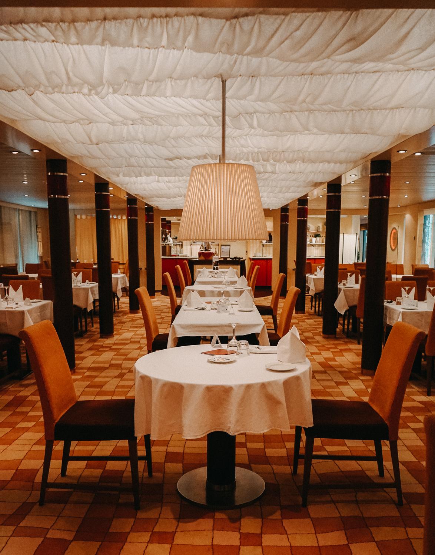 AROSA Flusskreuzfahrt Frankreich A-rosa Bella Restaurant Dinner Pärchenurlaub Rhône Saône 2