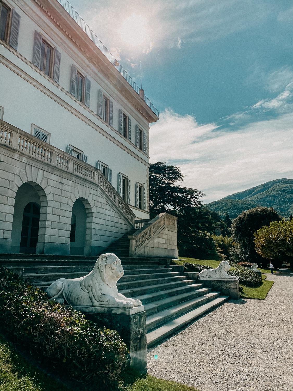 Comer See Bellagio Giardini di Villa Melzi Reisetipps Sightseeing Reiseblog Urlaub Comer See Urlaub mit Hund Reisen mit Hund 4