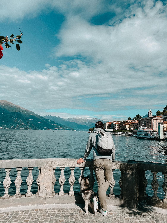 Comer See Bellagio Reisetipps Sightseeing Reiseblog Urlaub Comer See Urlaub mit Hund Reisen mit Hund 2