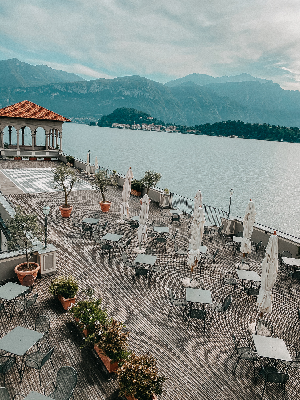 Comer See Hotel Grand Hotel Cadenabbia Ausblick Terrasse Reiseblog Hotel Tipps Comer See Tremezzo