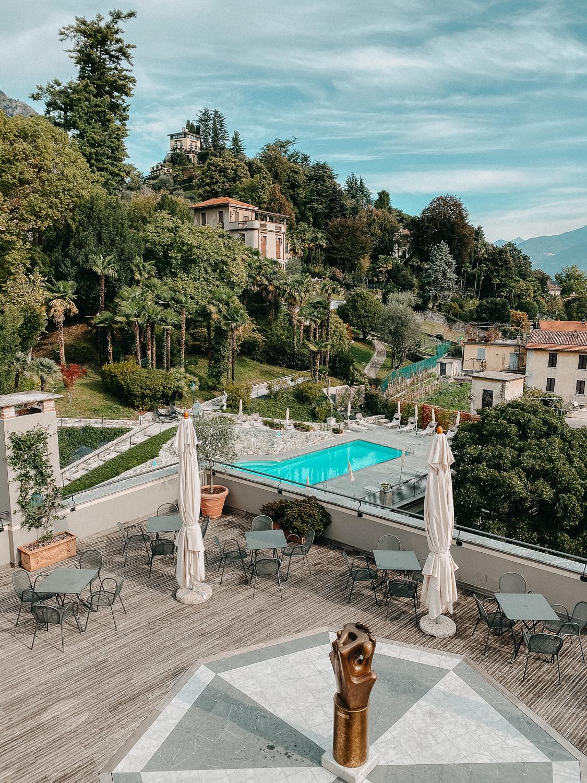 Comer See Hotel Grand Hotel Cadenabbia Pool Bereich Reiseblog Hotel Tipps Comer See Tremezzo 2