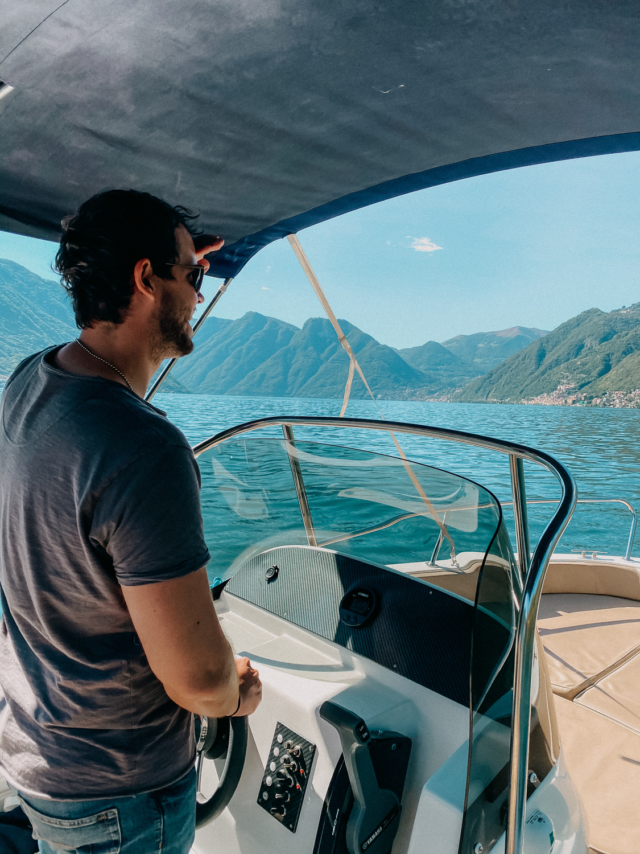 Comer See Reisetipps Sightseeing Motorboot mieten selbst fahren Reiseblog Urlaub Comer See 6