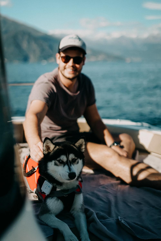 Comer See Reisetipps Sightseeing Motorboot mieten selbst fahren Reiseblog Urlaub Comer See Urlaub mit Hund 5