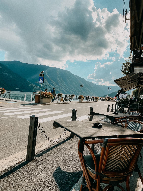 Comer See Restaurant Tipps Tremezzo Bar Gelateria helvetia Restaurant italienisch Essen Reiseblog