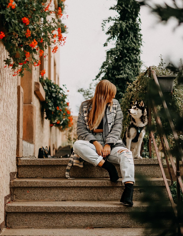Urlaub mit Hund Wochenendtrip Deutschland mit Hund Landidyll Hotel Klostermühle Restaurant Pfalz Garten