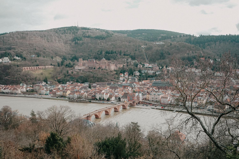 Reisen mit Hund 1 Woche Rundreise Route Heidelberg Deutschland Reiseblog Heidelberg Tipps