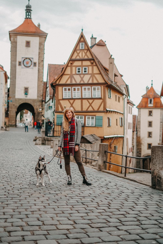 Reisen mit Hund 1 Woche Rundreise Route Rothenburg o.d. Tauber Hundeurlaub Urlaub Hund Deutschland Reiseblog 4