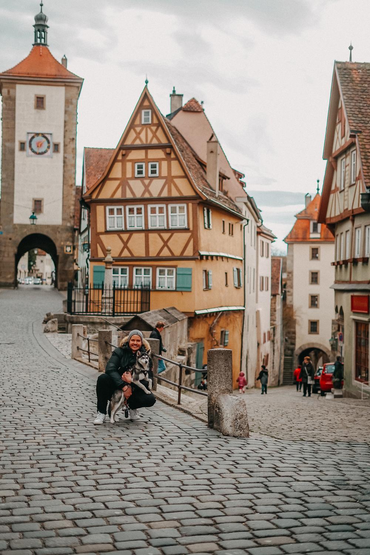 Reisen mit Hund 1 Woche Rundreise Route Rothenburg o.d. Tauber Hundeurlaub Urlaub Hund Deutschland Reiseblog 5