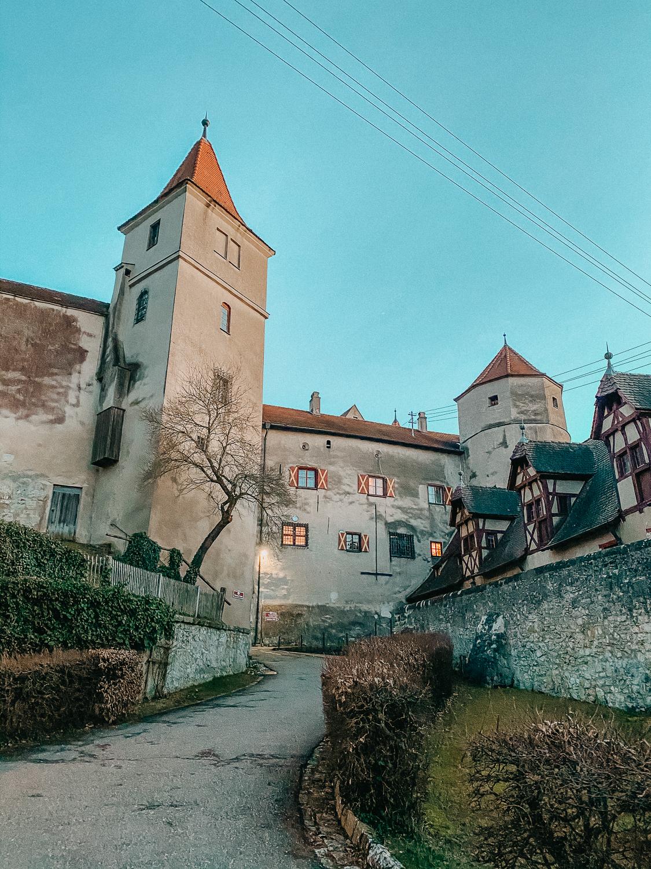 Romantische Straße Schloss Harburg Deutschland Reisen Auto Reiseroute Reiseblog