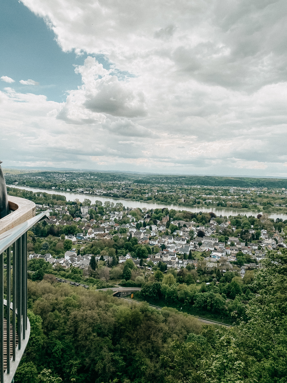 Skywalk Rabenlay Wanderungen in Bonn 1. Etappe Rheinsteig Bonn Rhein Wanderroute Bonn 3