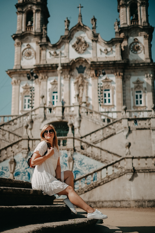 A-ROSA ALVA Flusskreuzfahrt Douro Portugal Flusskreuzfahrt Lamego Wallfahrtskirche Reiseblog 6