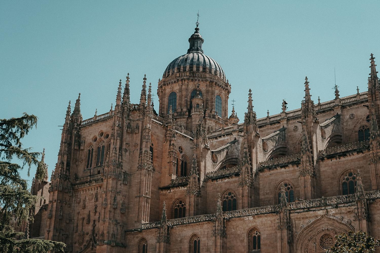 A-ROSA Flusskreuzfahrt Douro Portugal Ausflug Salamanca Kathedrale Reiseblog Tipps