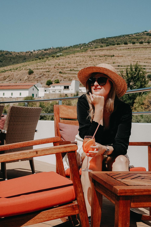 A-ROSA Flusskreuzfahrt Douro Portugal Außenbereich Sonnendeck Reiseblog 3