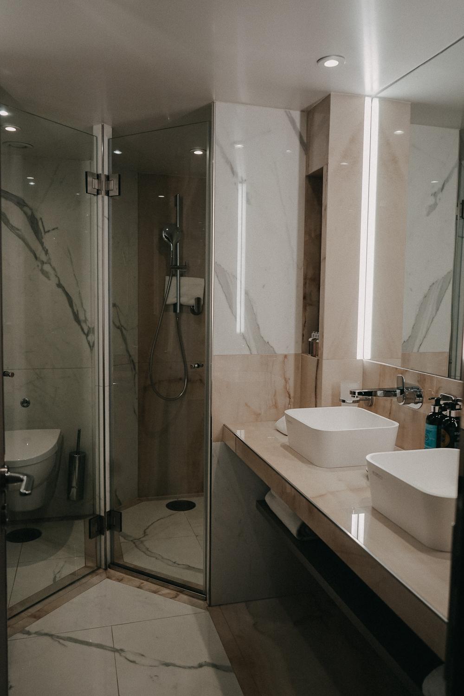 A-ROSA Flusskreuzfahrt Douro Portugal Suite Badezimmer Reiseblog