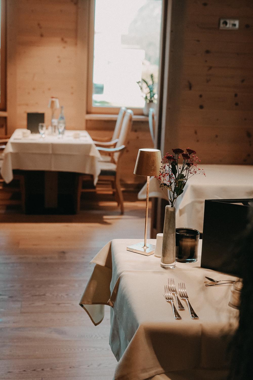 Thierseerhof Wellnesshotel Kufsteinerland Restaurant Reiseblog